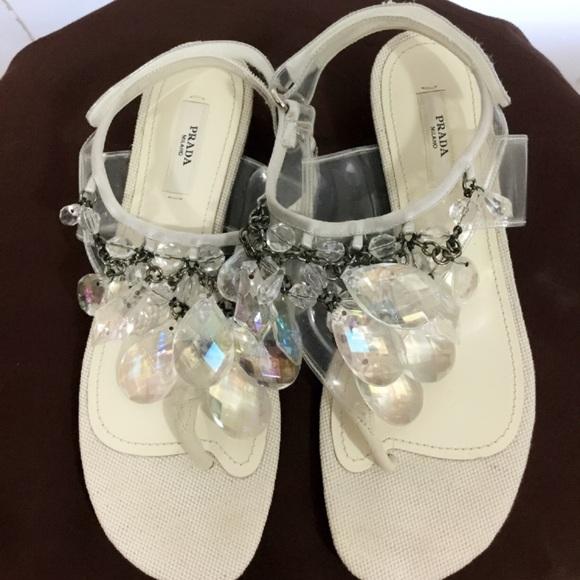 8e70092f052ea9 Prada chandelier sandal. M 5a6bbd95a825a64a9a07db29